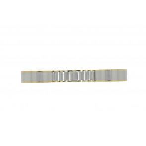 Klockarmband 16BI Metall Ilverfärgad 16mm