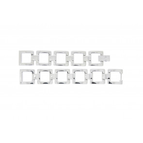 Lacoste klockarmband 2000490 / LC-05-3-18-0161 Metall Ilverfärgad 13mm
