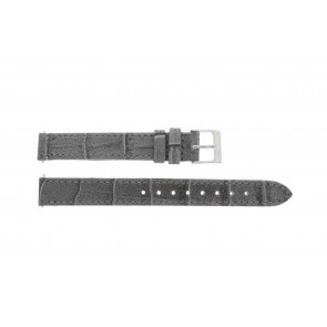 Lacoste klockarmband 2000514 / LC-05-3-14-0167 Läder Grå 13mm + default sömmar