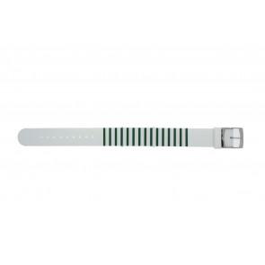 Lacoste klockarmband 2000892 / LC-84-3-14-2596 Silikon Grön 18mm