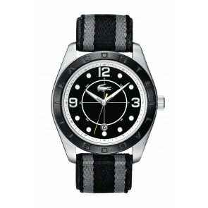 Klockarmband Lacoste 2010575 / LC-53-1-34-2267 Läder Svart 24mm