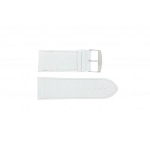 Klockarmband Universell 305R.09 Läder Vit 32mm