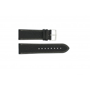 Klockarmband Universell 307L.01 XL Läder Svart 18mm