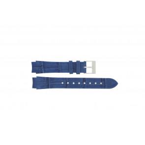 Klockarmband Prisma 33 832 117 Läder Blå 14mm