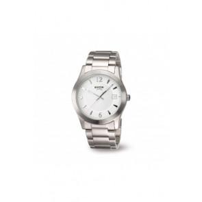 Klockarmband Boccia 3550 - 01 Stål Stål 22mm