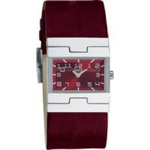 Klockarmband Dolce & Gabbana 3719251493 Läder Bordeaux 25mm