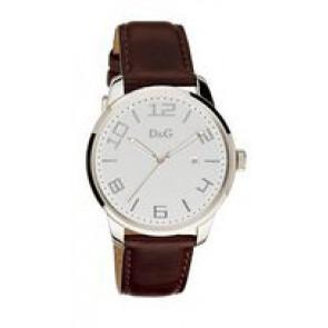 Klockarmband Dolce & Gabbana 3719340294 Läder Mörk brun