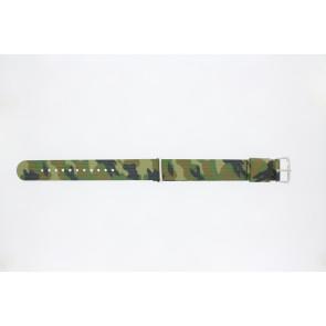 Klockarmband 410.C2.22 Textil Polykromi 22mm