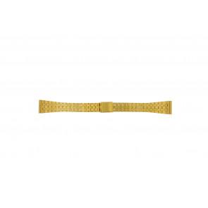 Klockarmband Universell 42522.5.16 Stål Guldpläterad 16mm