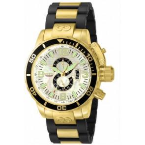 Klockarmband Invicta 4899.01 Stål Guldpläterad