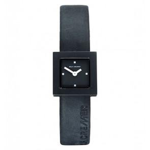 Klockarmband Rolf Cremer 496207 Läder Svart 14mm