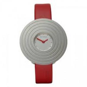 Klockarmband Rolf Cremer 499606-SOLEA Läder Röd 14mm