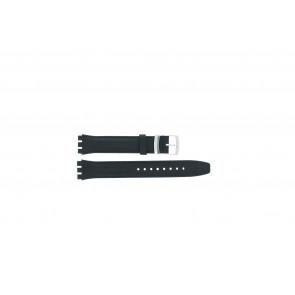 Klockarmband Swatch (alt.) 51643.06 Läder Blå 17mm