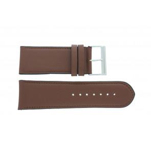 Klockarmband 61215B.23.30 Läder Brun 30mm + default sömmar