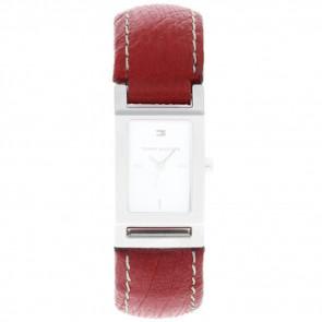 Klockarmband Tommy Hilfiger 679300818-8471503 Läder Röd