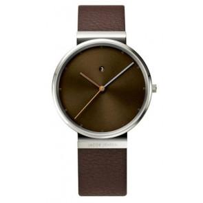 Klockarmband 843 Läder Brun 19mm