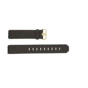 Klockarmband Jacob Jensen 845 / 844 / 847 Läder Brun 19mm