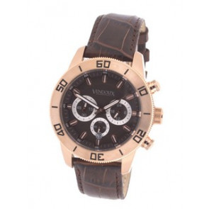Vendoux klocka rosa LR 16230-09