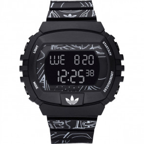 Klockarmband Adidas ADH6096 Plast Svart 15mm