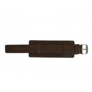 Davis klockarmband B0221 Läder Brun 22mm