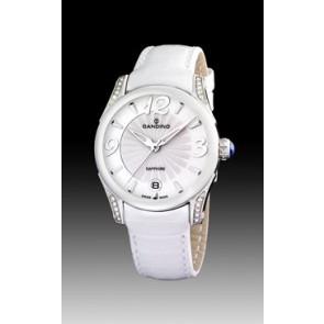 Klockarmband Candino C4419-1 Läder Vit