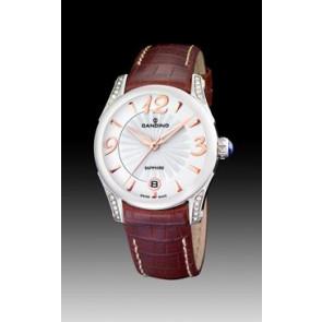 Klockarmband Candino C4419-2 Läder Brun