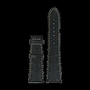 Klockarmband Certina C610014032 XL Läder Svart 23mm