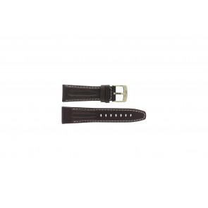 Klockarmband Camel 6420-6429 Läder Mörk brun 24mm
