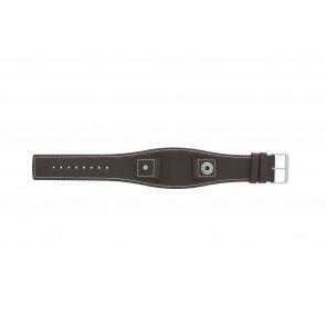 Klockarmband Camel BC51049 Läder Brun 18mm