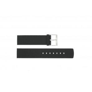Klockarmband Calvin Klein CK75-W08S Läder Svart 20mm