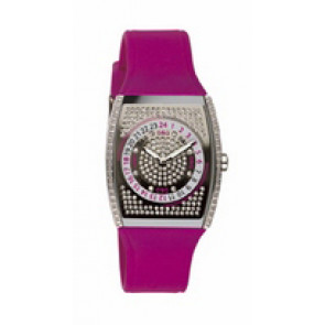 Klockarmband Dolce & Gabbana DW0071 Silikon Röd