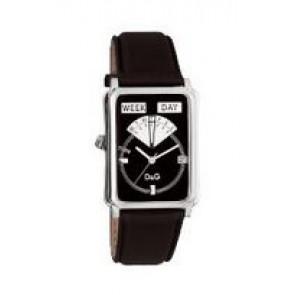 Klockarmband Dolce & Gabbana DW0122 Läder Svart