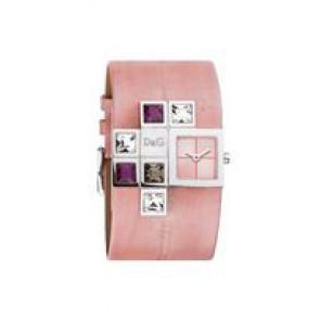 Klockarmband Dolce & Gabbana DW0176 Läder Rosa