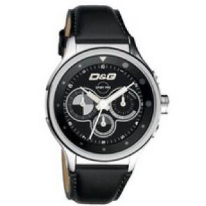 Klockarmband Dolce & Gabbana DW0211 Läder Svart 20mm