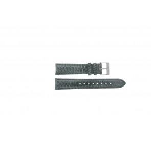 Esprit klockarmband ES103062 / 819660 Läder Grå 18mm + sömmar grå