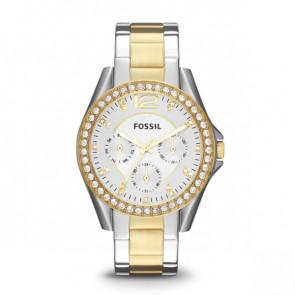Armbandsklocka Fossil Riley ES3204 Analog Kvartsur Kvinnor