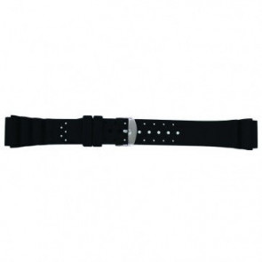 Klockarmband Universell SL100 Silikon Svart 20mm