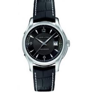 Klockarmband Hamilton H001.32.515.535.01 / H600325101 Läder Svart 20mm