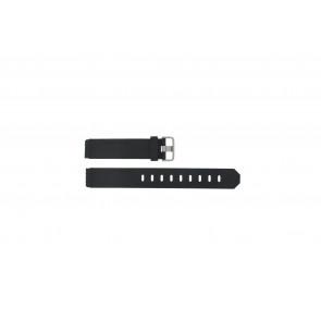 Klockarmband Jacob Jensen 750 Shine Gummi Svart 17mm