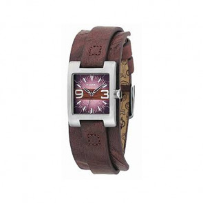 Klockarmband Fossil JR9515 Läder Brun 12mm