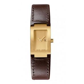 Klockarmband Calvin Klein K600026550 / K0411209 Läder Brun