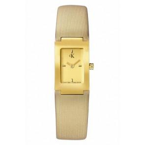 Klockarmband Calvin Klein K604022453 / K0411224 Läder Beige