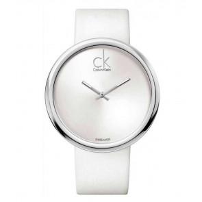 Klockarmband Calvin Klein K0V23120 Läder Vit 22mm