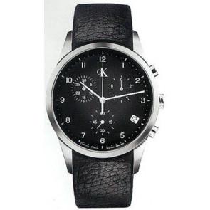 Klockarmband Calvin Klein K600058950 / K2227102 Läder Svart