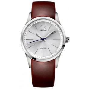 Klockarmband Calvin Klein K2241138 Läder Brun