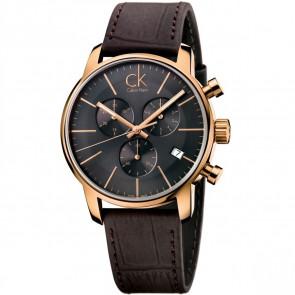 Klockarmband Calvin Klein K2G276G3 Läder Brun