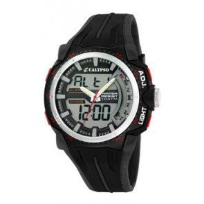 Klockarmband Calypso K5539-1 Gummi Svart