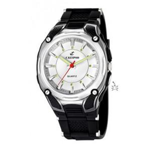 Klockarmband Calypso K5560-1 Gummi Svart