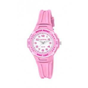 Klockarmband Calypso K6070-1 Gummi Rosa