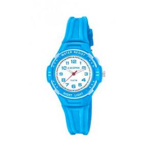 Klockarmband Calypso K6070-3 Gummi Blå